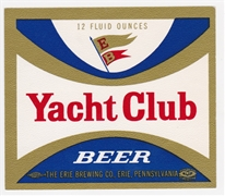 Yacht Club Beer Label