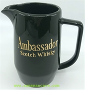 Ambassador Scotch Whisky Pitcher