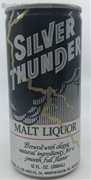 Silver Thunder Malt Liquor Can