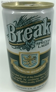 Break Lager Beer Can