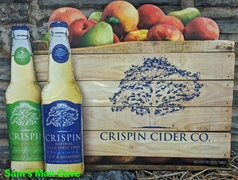 Crispin Cider Company Metal Sign