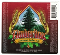 Timberline American Amber Ale Label