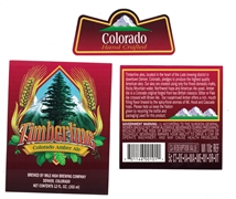 Timberline Colorado Amber Ale Label