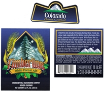 Timberline White Forest Ale Label