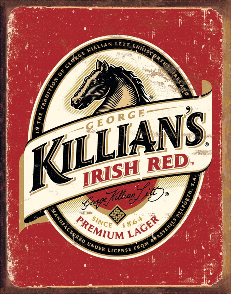 Killian's Logo Tin Sign