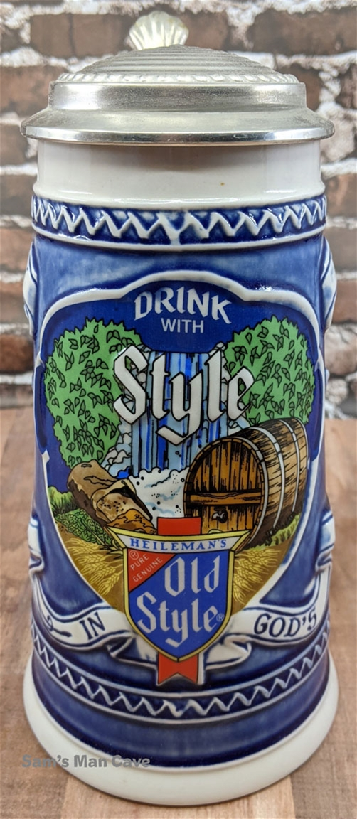 1982 Old Style Beer Stein