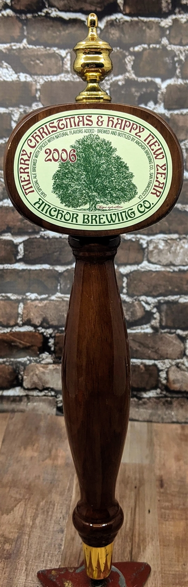 Anchor Brewing 2006 Holiday Tap Handle