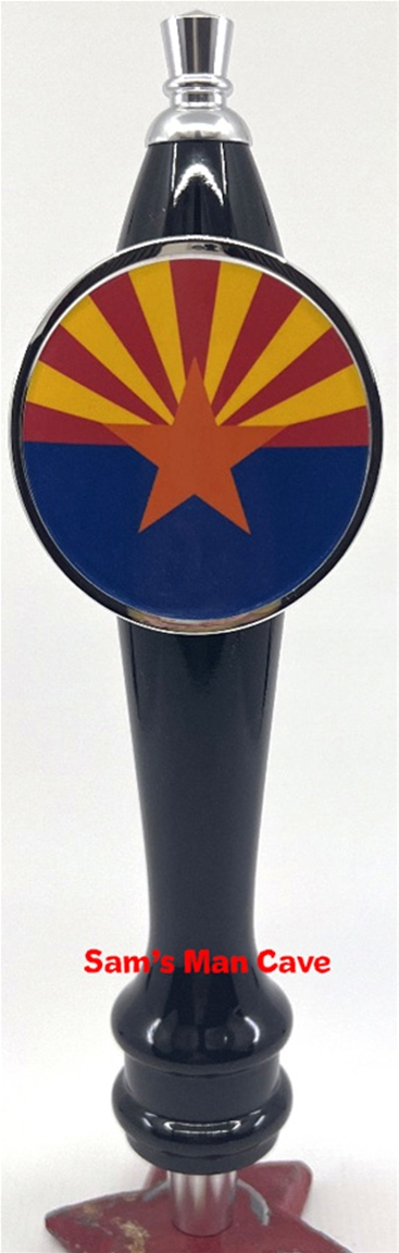 Arizona Flag Tap Handle
