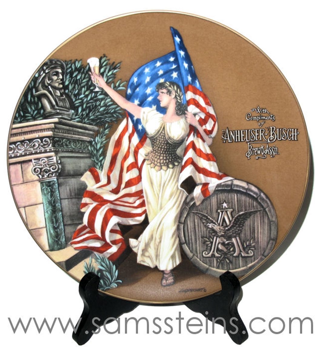 Budweiser Archives Series 1893 Columbian Exposition Plate