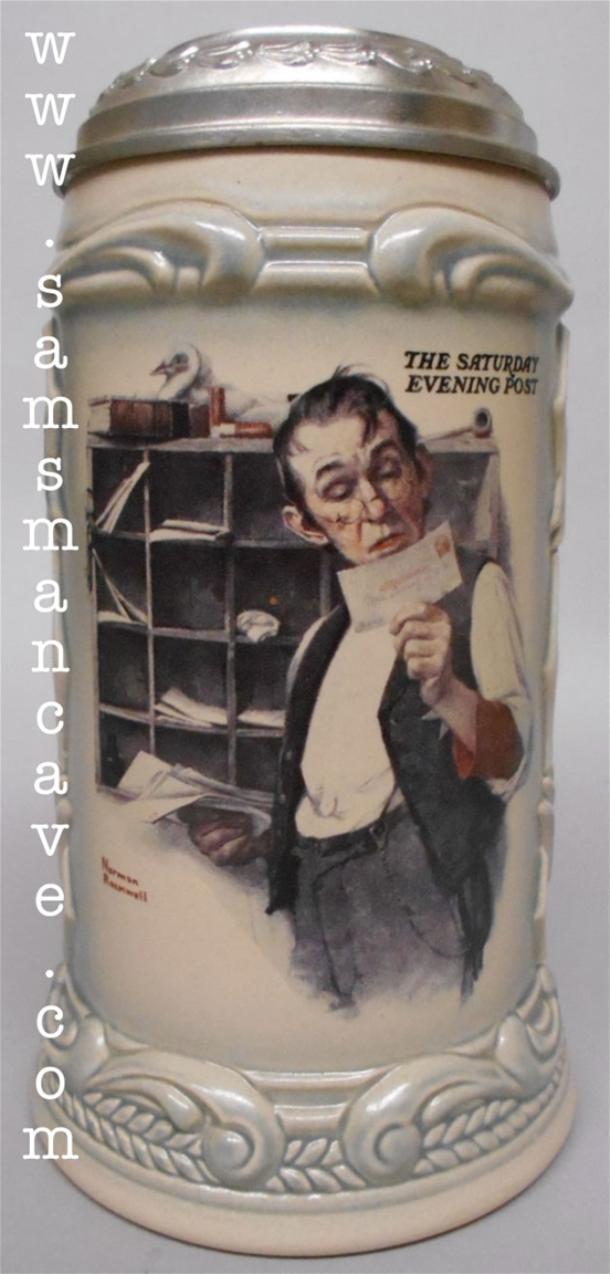 Norman Rockwell Sorting The Mail Stein