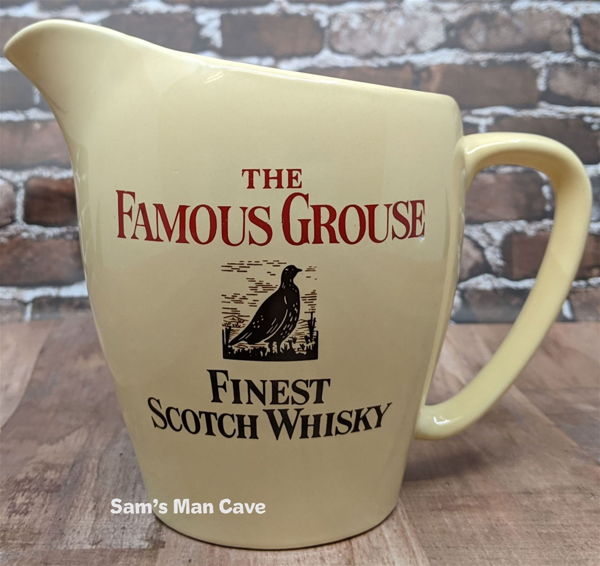 Famous Grouse Whisky Pitcher