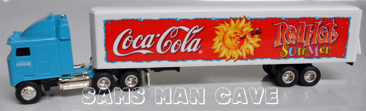 Coca Cola Red Hot Summer Tractor Trailer