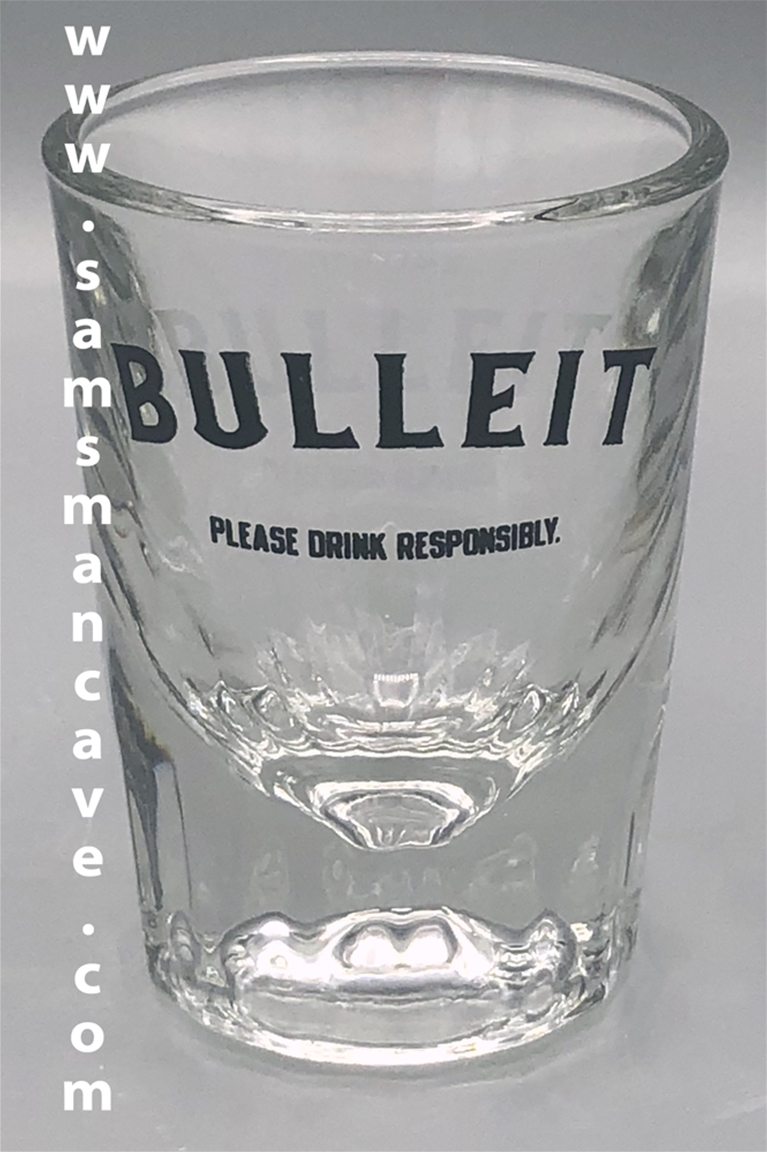 Bulleit Shot Glass