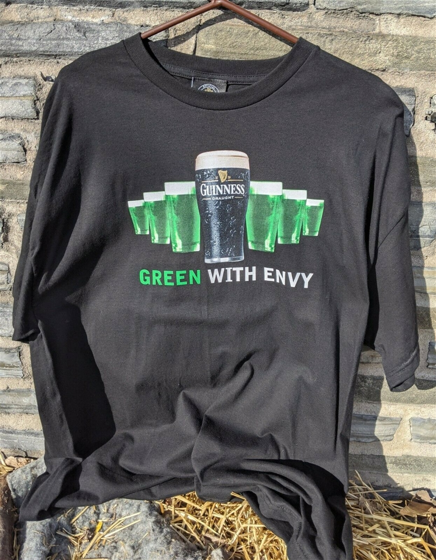 Guinness Green With Envy T-Shirt XXL