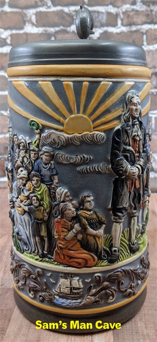 300 Years of Germans in America Beer Stein